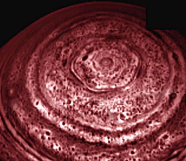 Mini Saturn Hexagon