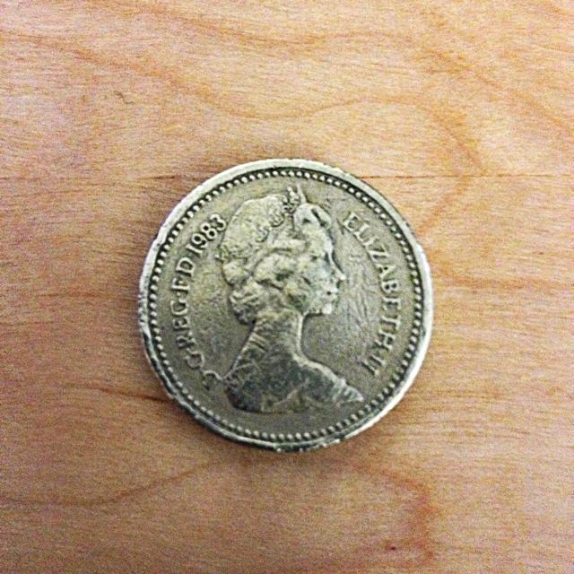 Pound Coin 1983