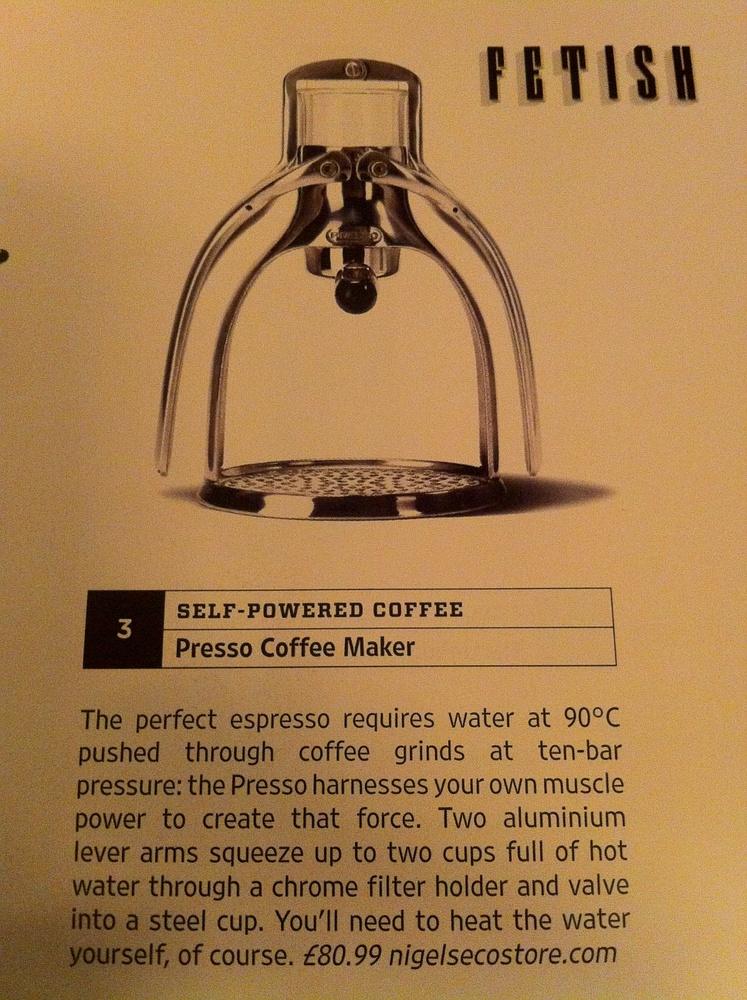 Self Powered Coffee