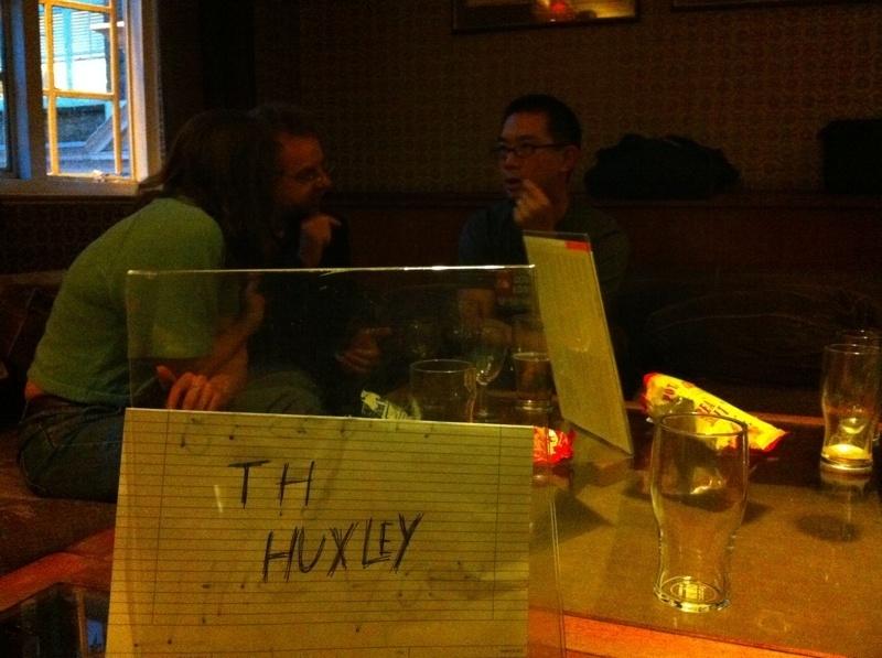 UKSciTweetup Huxley