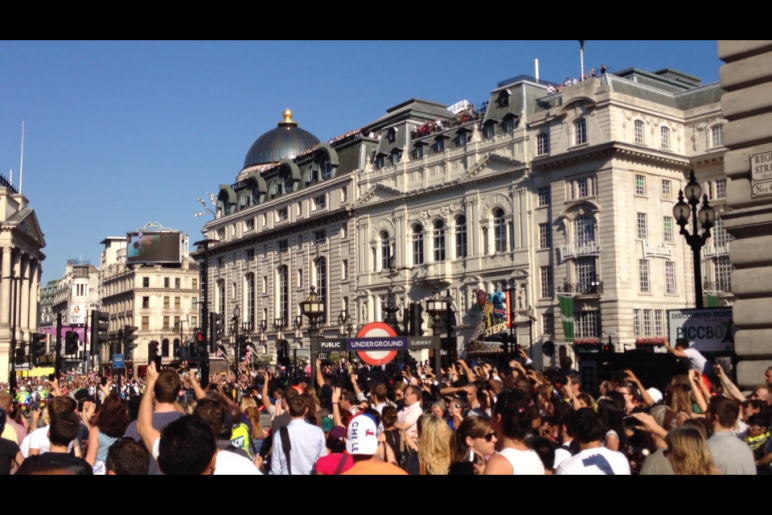 Olympic Torch London 1