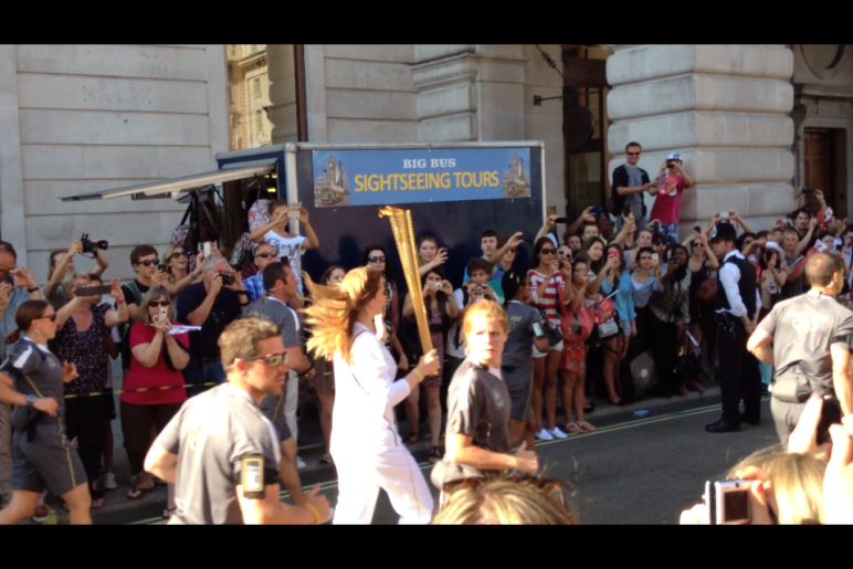 Olympic Torch London 4