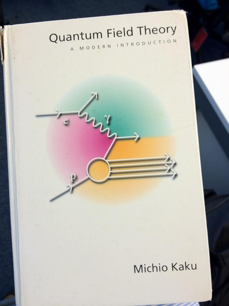 Quantum Field Theory Kaku