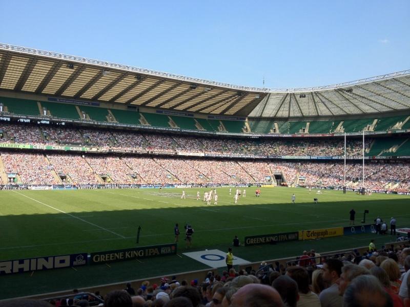 Rugby Twickenham England Barbarians