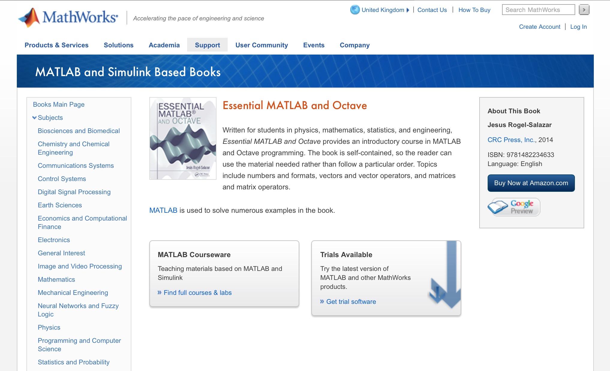 essential of matlab programming pdf