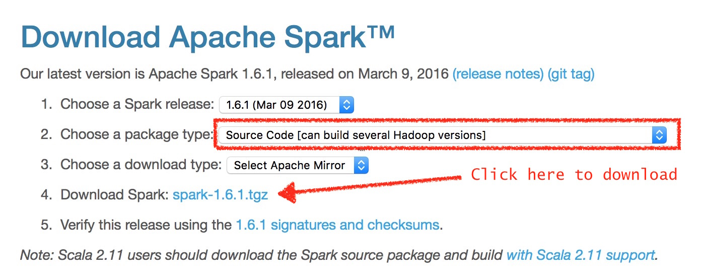 Installing Spark 1 6 1 on a Mac with Scala 2 11 - Quantum Tunnel